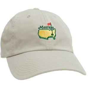 NWT Masters Tournament Golf Augusta Khaki Hat
